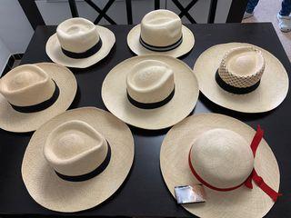 Vendo genuinos sombreros Pánama hecho en Ecuador