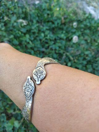 Pulsera/brazalete serpientes vintage