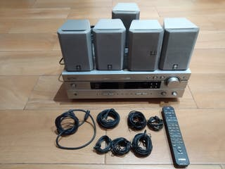 Home cinema 5.1 Yamaha y altavoces .