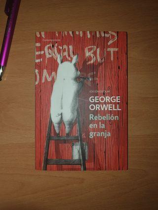 """Libro de lectura """"Rebelión en la granja"""""""