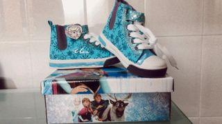 Zapatillas bota niña de Frozen (Elsa)