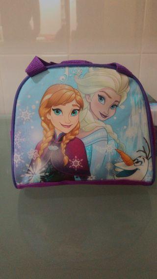 Bolsito niña de Frozen (Ana,Elsa y Olaf)