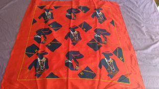 pañuelo de seda vintage estilo CHANEL