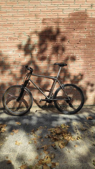 Bicicleta mtb titanio