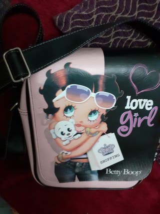 Bolso bandolera de la Betty Boo original,con bol