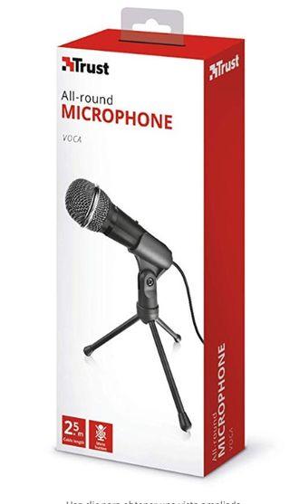 Trust Starzz Micrófono con trípode