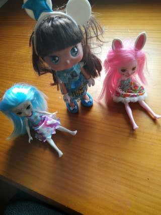 muñecas enchantimals, Barbies