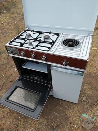 cocina fagor de gas butano fagor