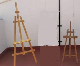 2 caballetes de pintura