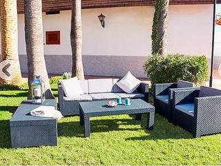 Conjunto *NUEVO* de terraza/patio/jardín