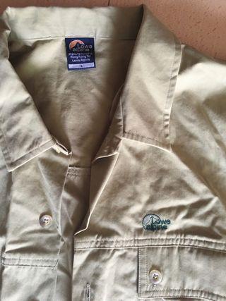 Camisa de manga larga L LOWE ALPINE