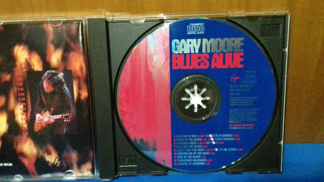 Cd Gary Moore ( Blues Alive )