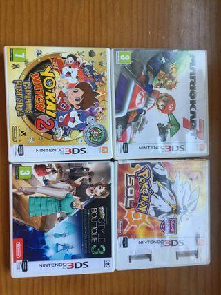 Juegos Nintendo 2DS Válidos para 3DS