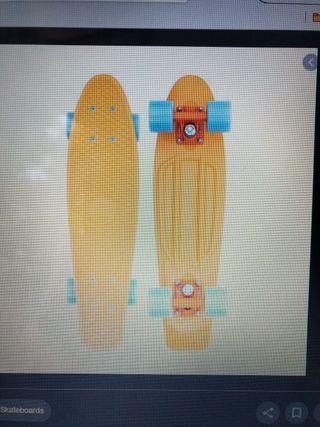 Penny Skateboard 22'. Con caja original. 3 usos