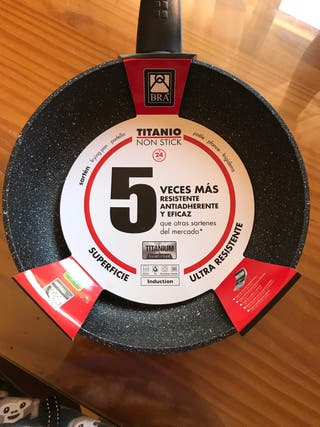 Sartén Titanio Non stick BRA 24cm