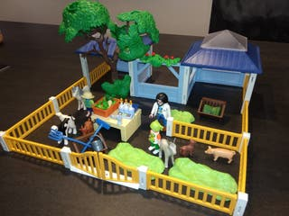 PLAYMOBIL ZOO ENFERMERIA ANIMALES