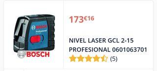 nivel laser bosh