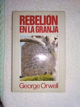 rebelión en la granja. George orwell