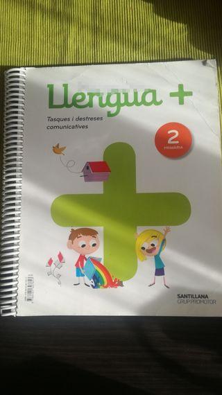 libro de 2 primaria( santillana)