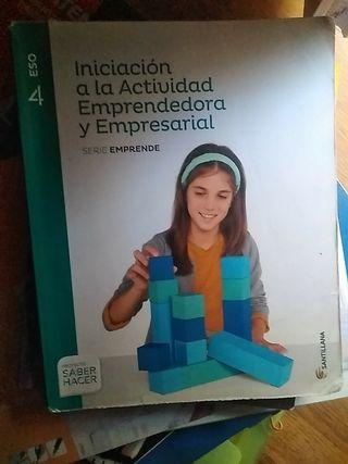 libro empresariales 4 ESO