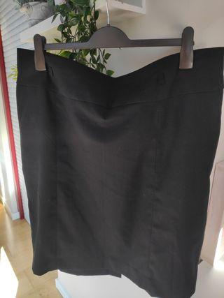 Falda talla 52 tipo midi