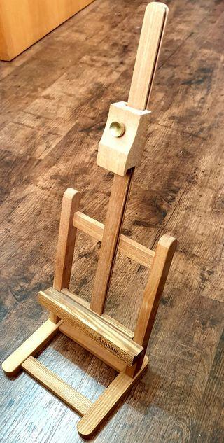Caballete pintura ArtMate en madera NUEVO