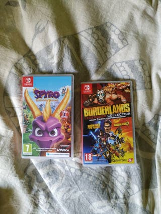 pack juegos switch