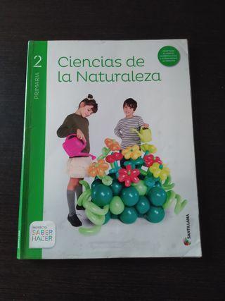 Libro Ciencias Naturales 2° primaria, Santillana