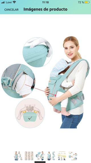 Mochila cargador bebe hasta 48 meses NUEVA