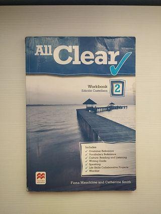 All Clear workbook edición castellana 2