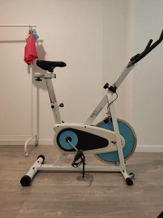 bicicleta estática spinning fitness