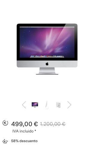 Apple iMac sobremesa y disquetera