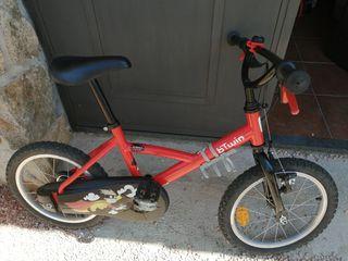 Bici infantil de 4 a 7 años