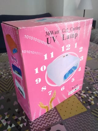 Lampara UV LED 36W Gel