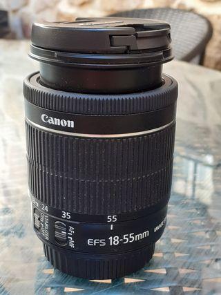 objetivo canon 18-55