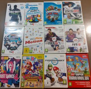 Juegazos Wii. Ver precios y disponibilidad