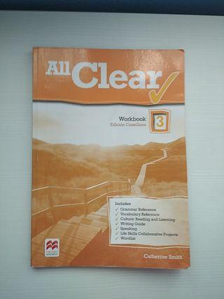 All Clear Workbook edición castellana 3