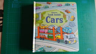 """Libro en inglés """"Look inside Cars"""""""
