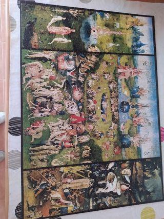 Puzzle Jardín de las Delicias