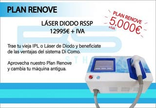 Plan renove laser diodo sistema dicomo