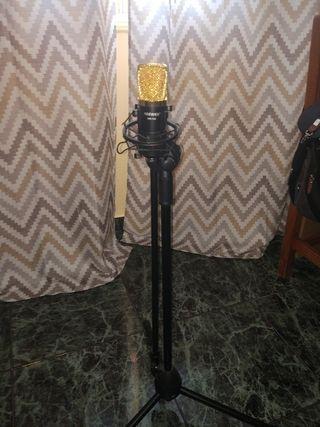 micrófono estudio profesional