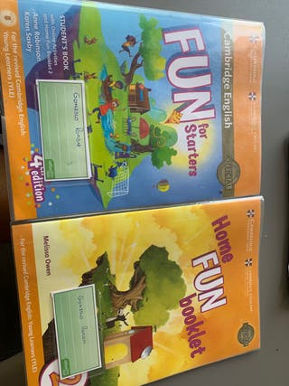 FUN FOR Starters 2 primaria ISBN 9781316631911