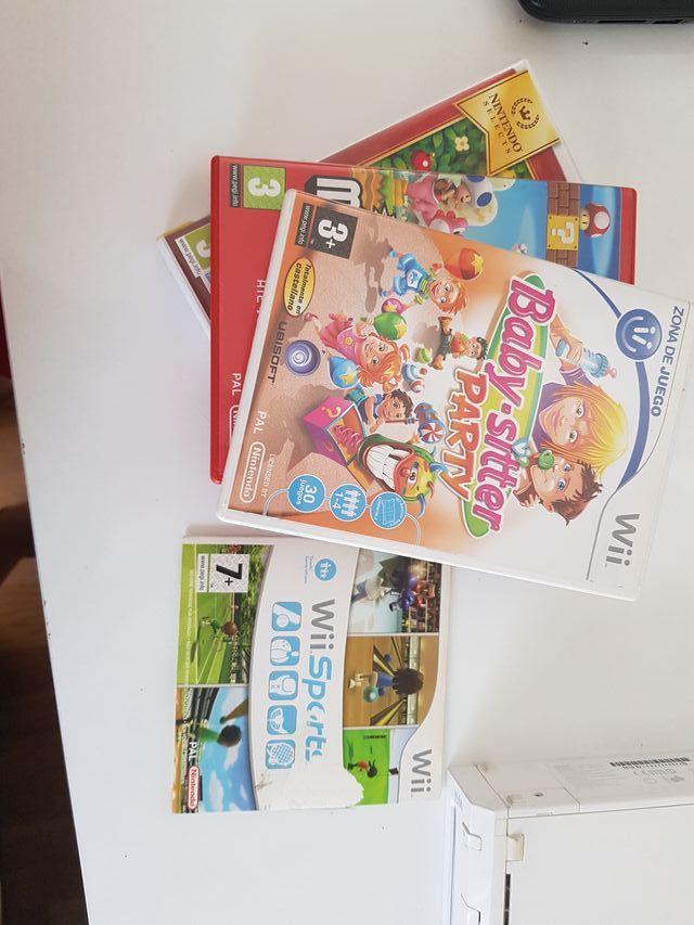 Wii + juegos