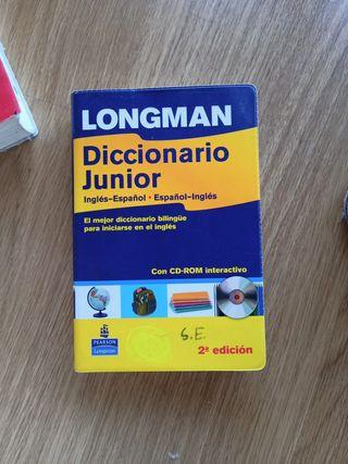 Diccionario inglés Longman Edición disco incluido