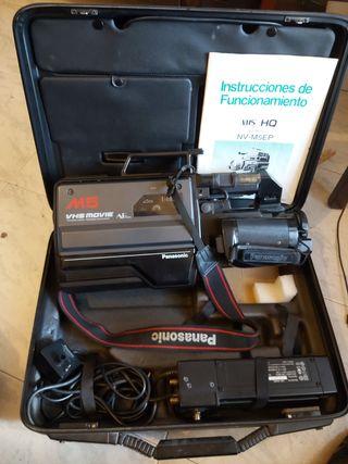 videocámara Panasonic vintage profesional