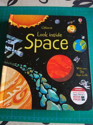 """En inglés """"Look inside Space"""""""