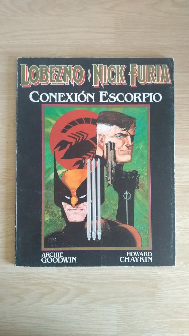 Tomo Lobezno Conexion Escorpio comic