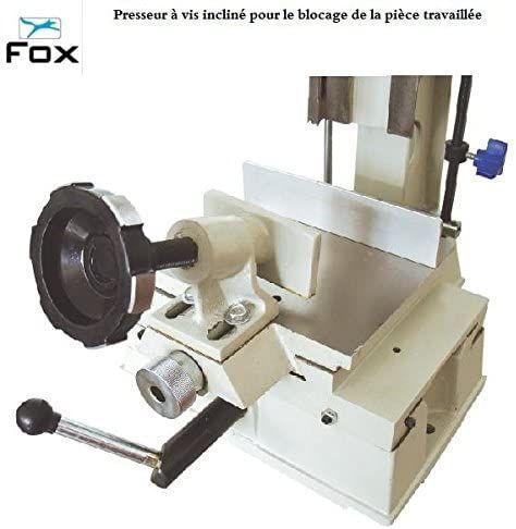 Fresadora vertical F14-652 Fox