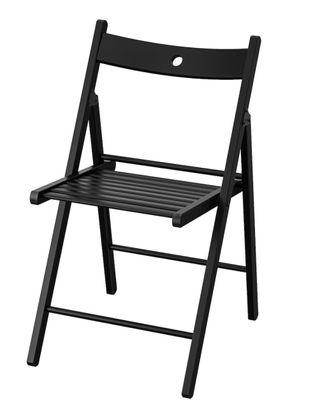 Silla plegable Ikea Terje color negro