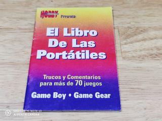 El Libro de los portátiles Game boy Game Gear